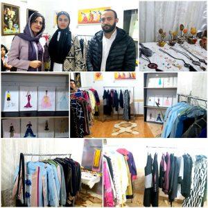 برگزاری نمایشگاه طراحی لباس و نقاشی مدرن در سقز