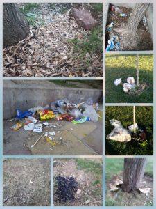 ریختن زباله و تخریب فضای سبز، پارک مولوی کورد سقز را تهدید می کند