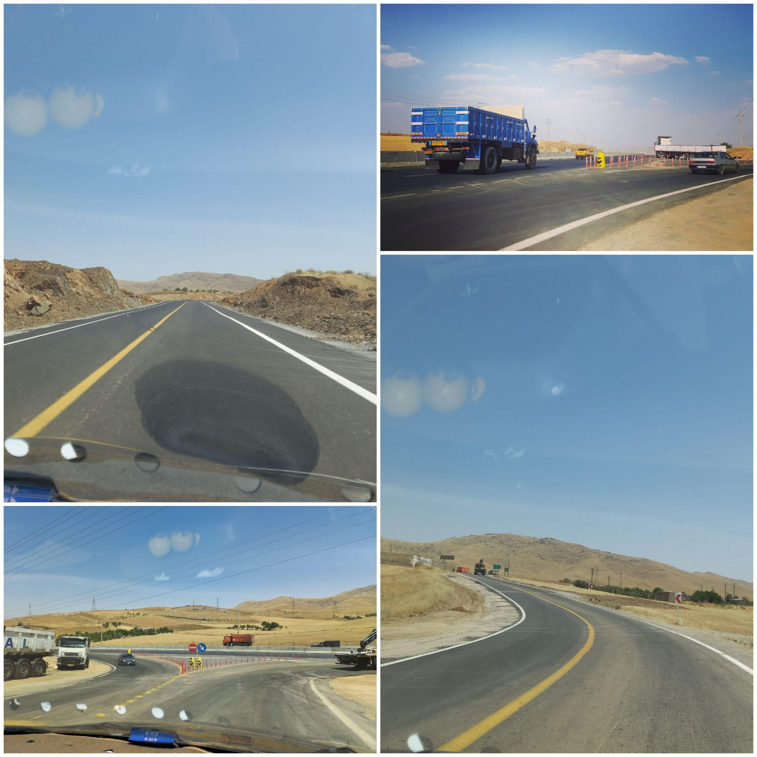 لزوم ایمن سازی جاده جایگزین سقز- مریوان