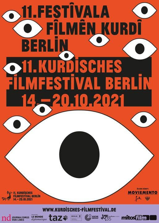 یازدهمین دوره فستیوال فیلم کوردی «برلین» در آلمان برگزار می شود