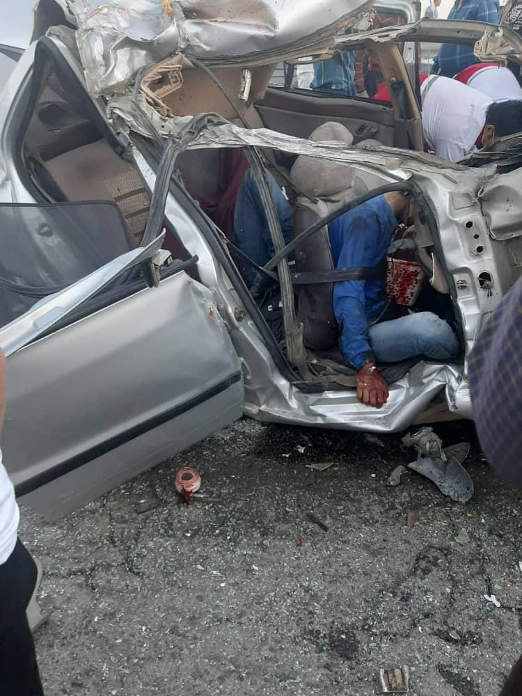 تصادف مرگبار در زرینه اوباتو