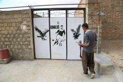 بوم نقاشی و خلاقیت بر دیوارهای کهریزه ایوبی