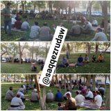 تجمع برای صدور مجوز ساخت در زمین های پشت شهرک دانشگاه سقز