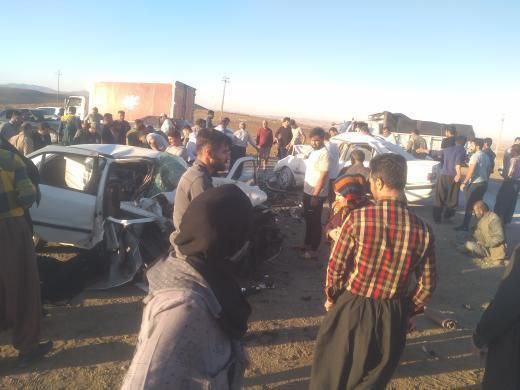 روزی پرحادثه در محورهای مواصلاتی شهرستان سقز