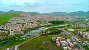 نمایی از شهر تاریخی و فرهنگی سقز