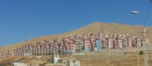 مسکن مهر جاقل و دسترسی سخت به خدمات و امکانات شهری